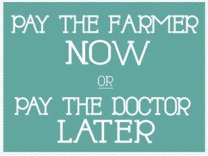 pay the farmer now