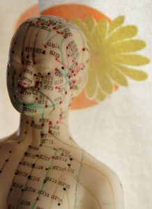 acupuncture points on head
