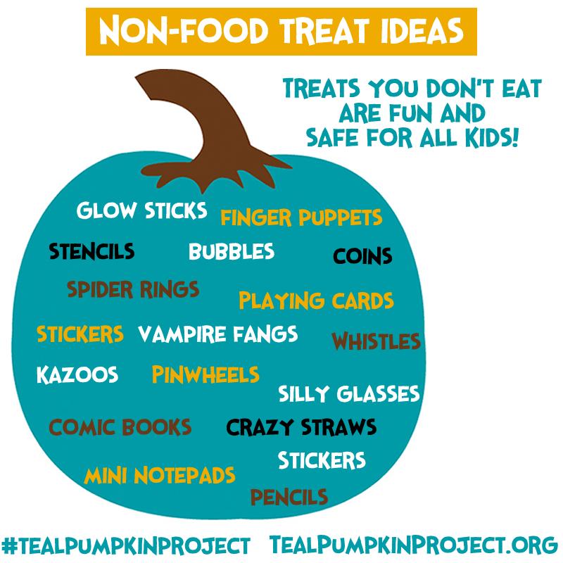 non-food Halloween treats