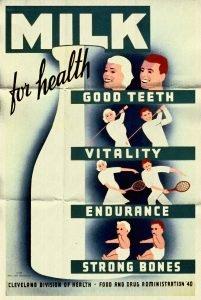 vintage milk ad