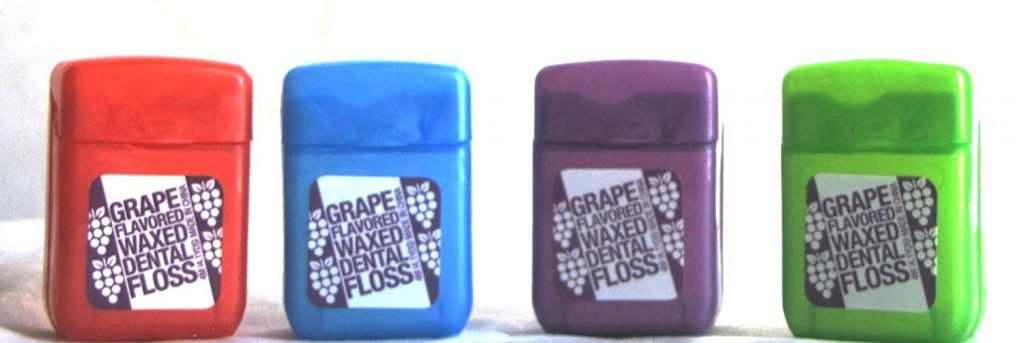grape flavored dental floss