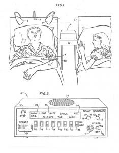anti-snoring device diagram from patent