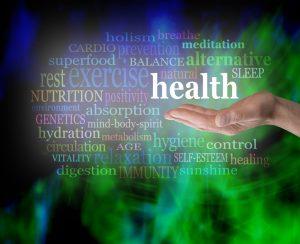 natural health word cloud